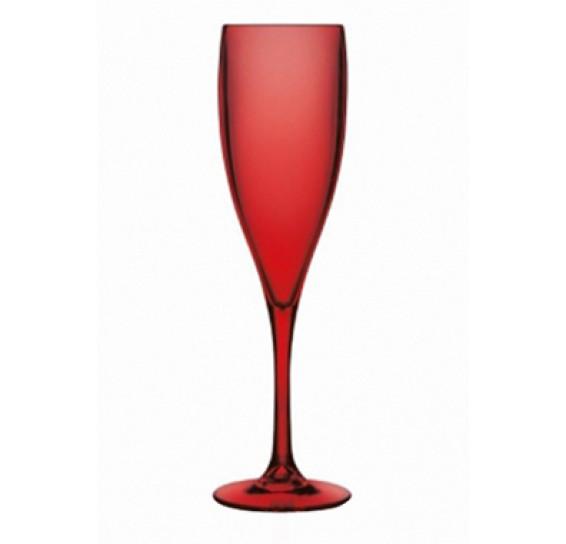 Taça de champanhe vitra vermelha <ou>