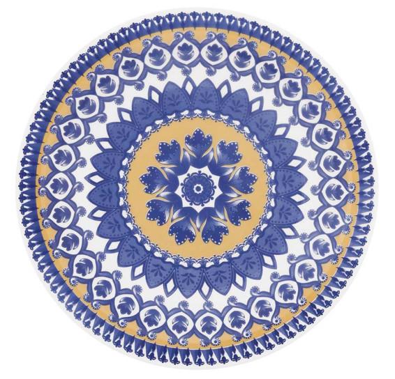 Prato fundo 23 cm floreal la carreta oxford