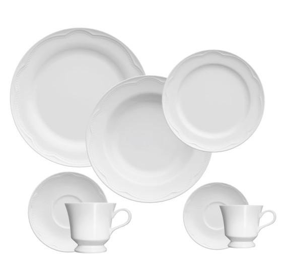 Jogo de jantar 42 peças porcelana cottage germer