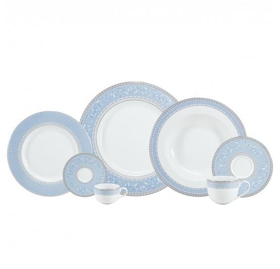 Jogo de jantar 30 peças porcelana diva schmidt