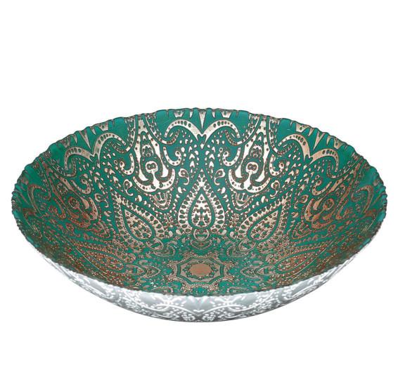 Centro de mesa vidro istambul lyor