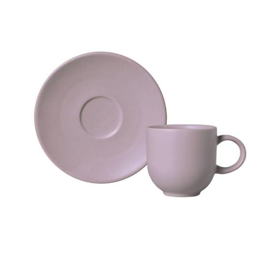 JOGO DE XICARA P/ CAFE COUP STONEWARE MAHOGANY 1O CLASSIFIC
