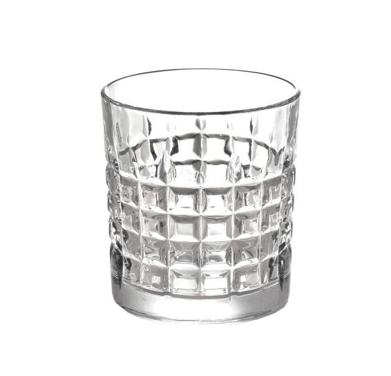 Jogo De 6 Copos Vidro Para Whisky Bon Gourmet 325Ml