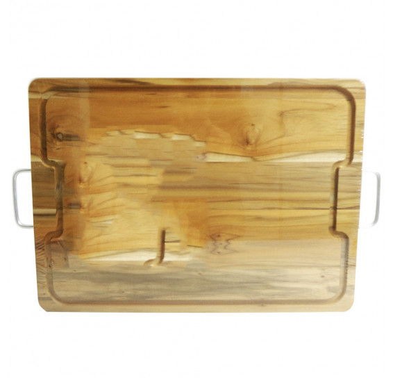 Tábua para churrasco 50x36 cm wood designs