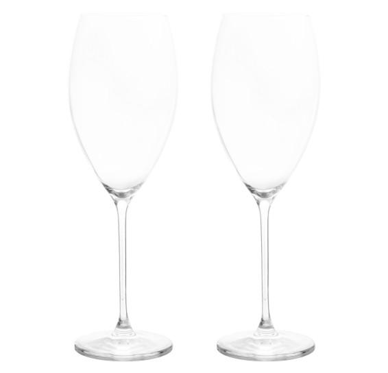 Conjunto 02 taças vinho e água athenas classic oxford