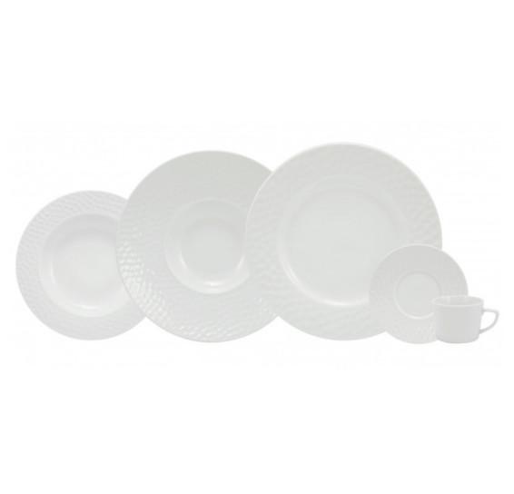 Jogo de jantar 30 peças porcelana ártico schmidt
