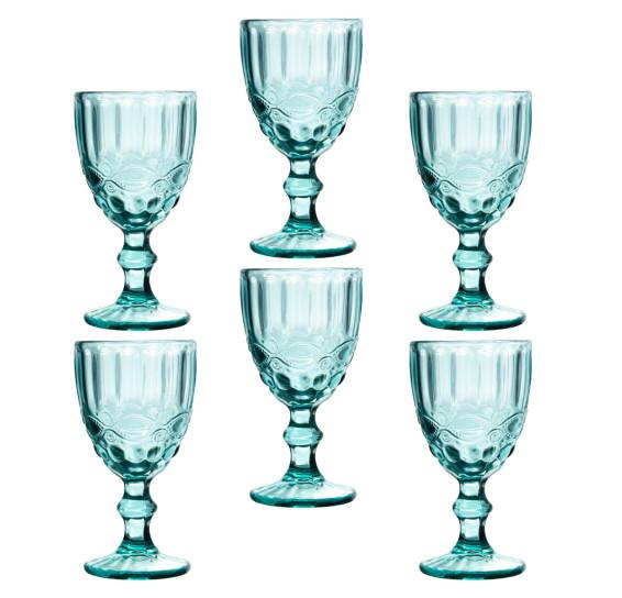 Jogo de taças água elegance tiffany class home