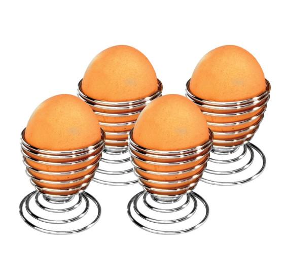 Jogo porta ovos 4 peças fackelkmann