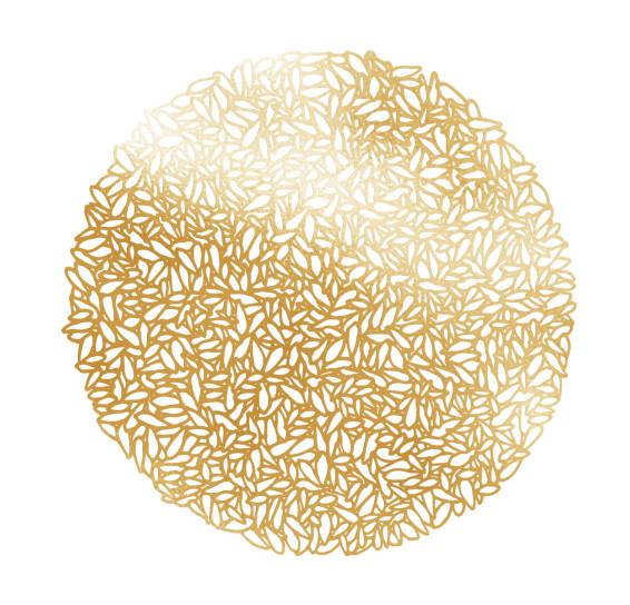 Lugar americano minsk gold de pvc 38 cm bon gourmet