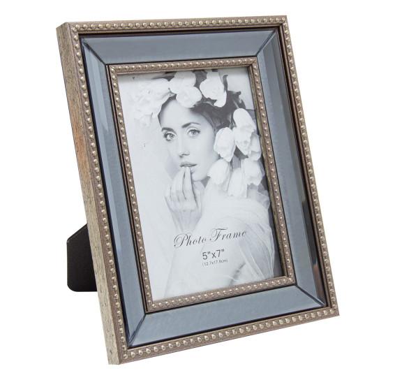 Porta retrato com espelho 12 x 17 cm
