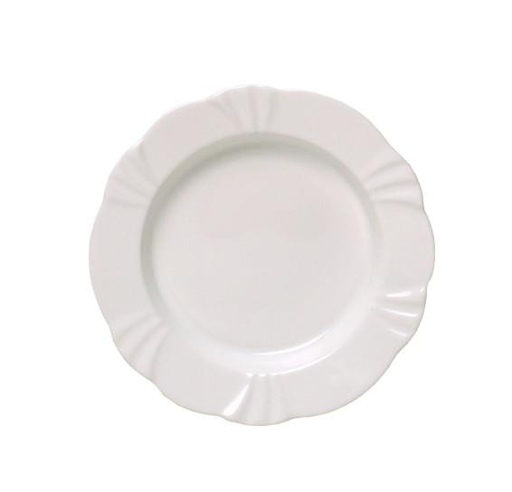 Prato fundo 24 cm soleil white oxford
