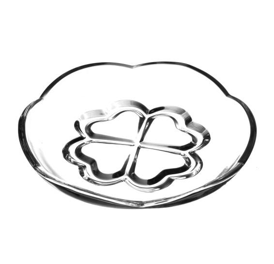 Prato para sobremesa de cristal saigon lyor