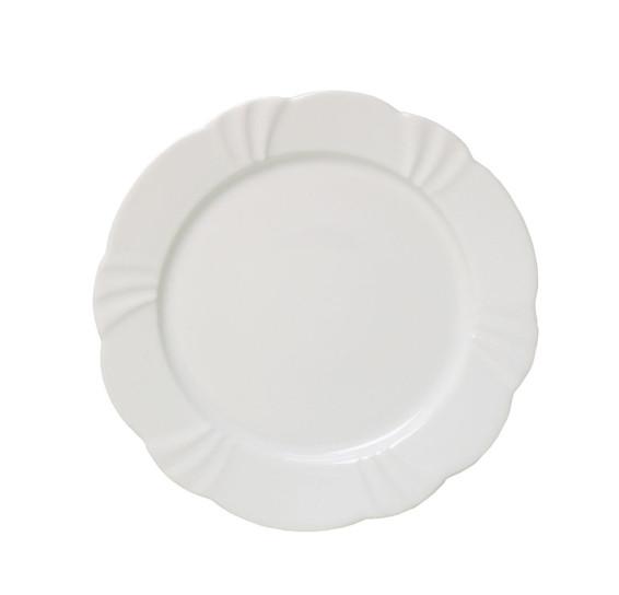 Prato raso 29 cm soleil white oxford