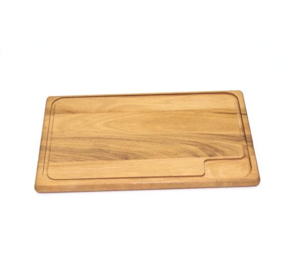 Tábua de madeira para cortar e servir tramontina