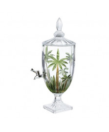 Dispenser cristal ecologico palm tree handpaint 4 l wolff