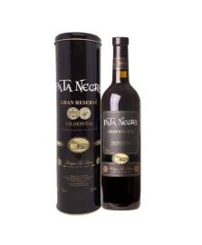 Vinho pata negra gran reserva em lata 750 ml