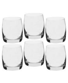 Jogo 06 copos whisky 290 ml cristal ideal bohemia