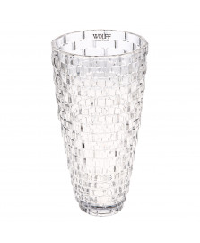 Vaso 30 cm degrade cristal wolff