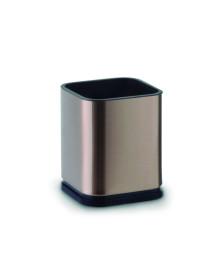 Porta talher inox bronze mimo style