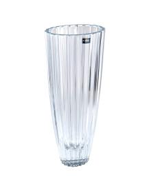 Vaso oval 35.5 cm cristal bohemia