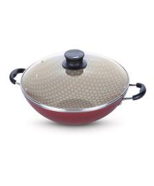 Panela wok aluminio 32 cm paris tramontina