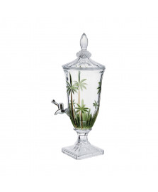 Dispenser cristal ecologico palm tree handpaint 2 l wolff