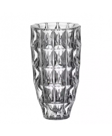 Vaso em Cristal 33 cm Diamond Bohemia