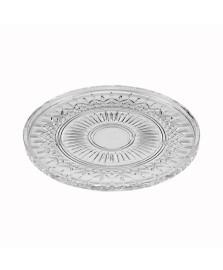 Prato cristal de chumbo p/servir lys 32cm