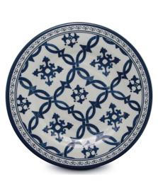 Prato de jantar melamina azulejo portugues mimo
