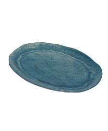 Travessa melamina aqua azul 40x28x2cm