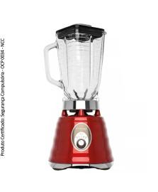 Liquidificador clássico vermelho oster 127v