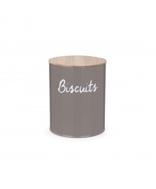 Pote red p/biscoitos canister warm gray