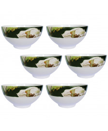 Jogo 06 bowls leeds jade cerâmicas