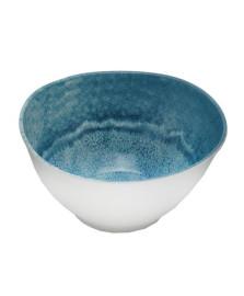Saladeira melamina aqua azul 25cm