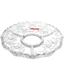 Petisqueira 31 cm vidro karen noritazeh