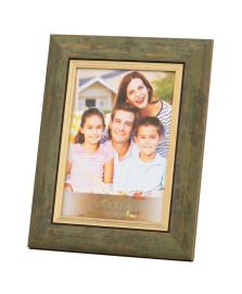 Porta retrato 15 x 21 cm frizo verde woodart