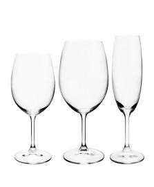 Jogo 18 taças cristal ecológico anna bohemia