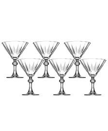 Jogo 06 taças martini 235 ml diamond pasabahce
