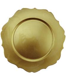 Sousplat versalhes dourado mimo