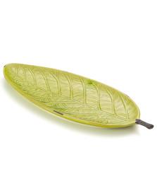 Folha decorativa 47.5 x 17.5 cm verde bencafil