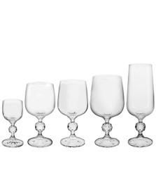 Jogo 30 taças cristal ecológico klaudie bohemia