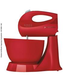 Batedeira jolie vermelha cadence 127v
