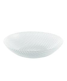 Saladeira redonda 29.5 cm transparente tiffany