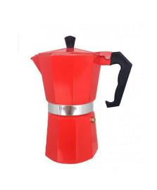 Cafeteira italiana p/ 06 cafezinhos vermelha mimo