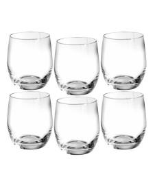Jogo 06 copos whisky 300 ml cristal club bohemia