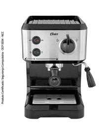 Cafeteira para espresso e capuccino oster 127v