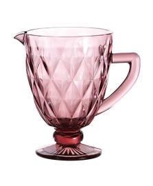 Jarra de vidro 01 l diamond lilás lyor