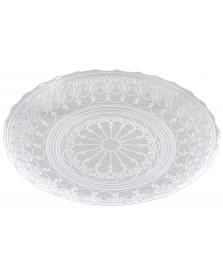 Centro de mesa 40 cm vidro doge vylux