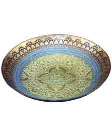 Centro de mesa 41 cm gothic café azul verde vylux