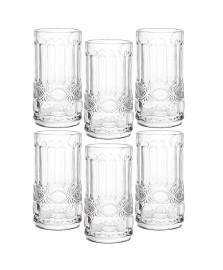 Jogo 06 copos 300 ml vidro transparente mart